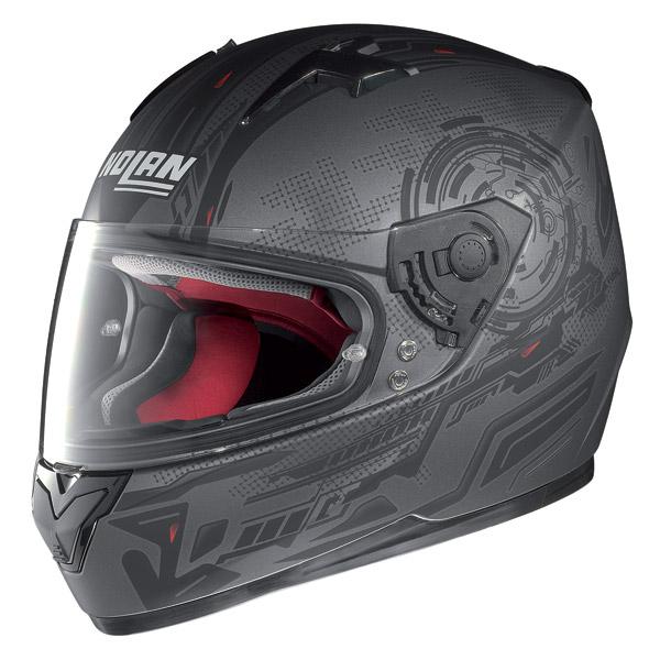 Motorcycle Helmet Full-Face Nolan N64 Next flat lava grey