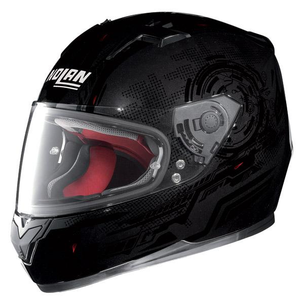 Motorcycle Helmet Full-Face Nolan N64 Next Sparkling Black