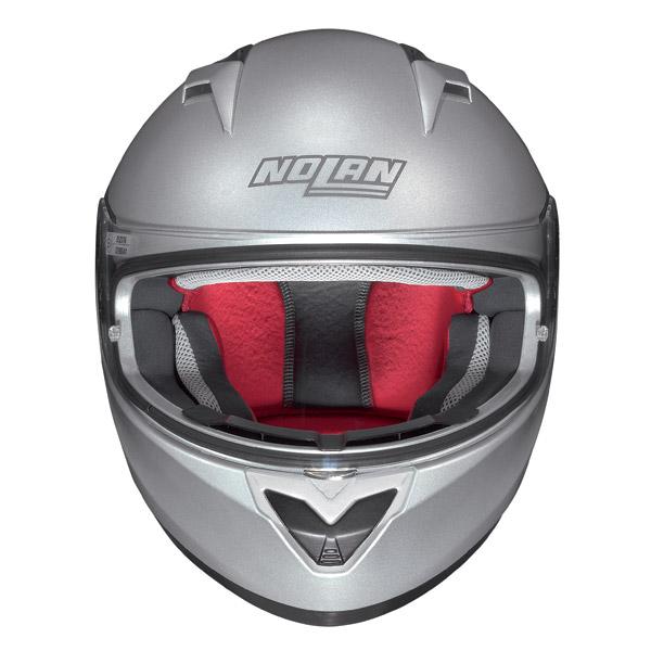 Motorcycle Helmet Full-Face Nolan N64 Patriot Metal White