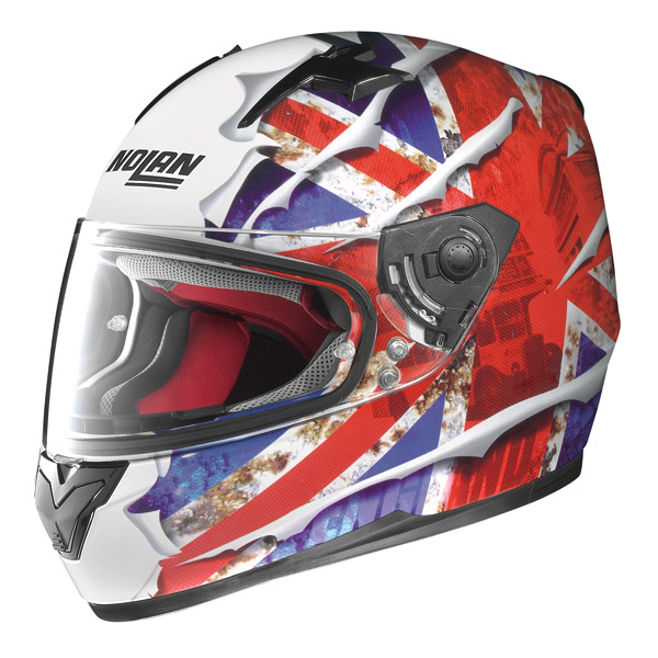 Casco moto integrale Nolan N64 Set Flag