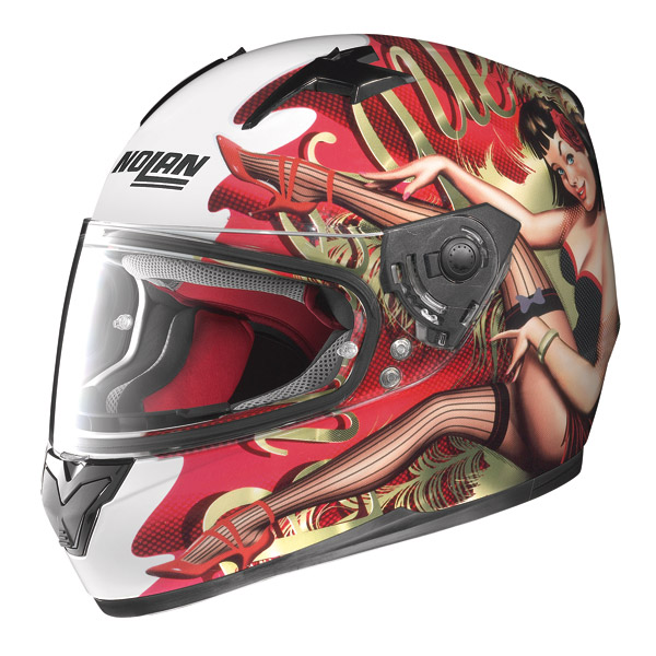 Casco moto integrale Nolan N64 Set Burlesque