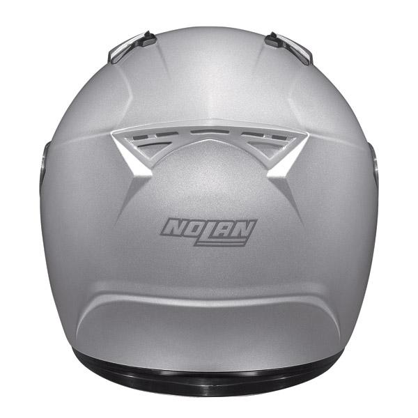 Casco moto integrale Nolan N64 Smart argento