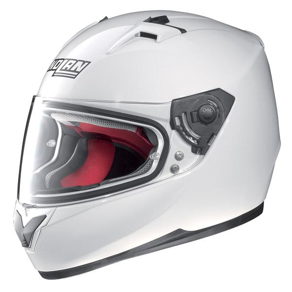 Casco moto integrale Nolan N64 Smart bianco