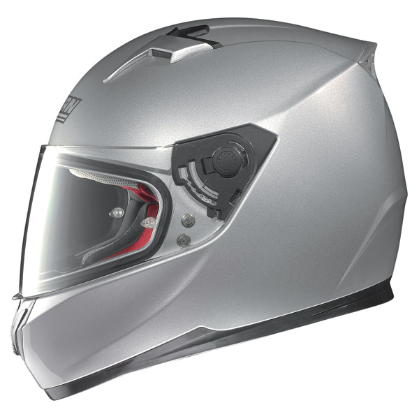 Casco moto integrale Nolan N64 Smart nero lucido