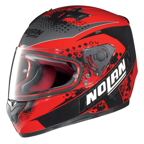 Motorcycle Helmet Full-Face Nolan N64 Sparky Corsa Red