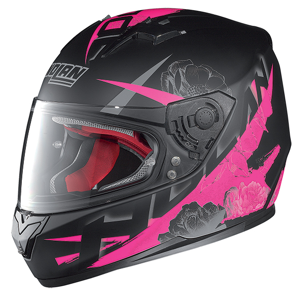 Nolan N64 Stylet full face helmet Matte Black Rose