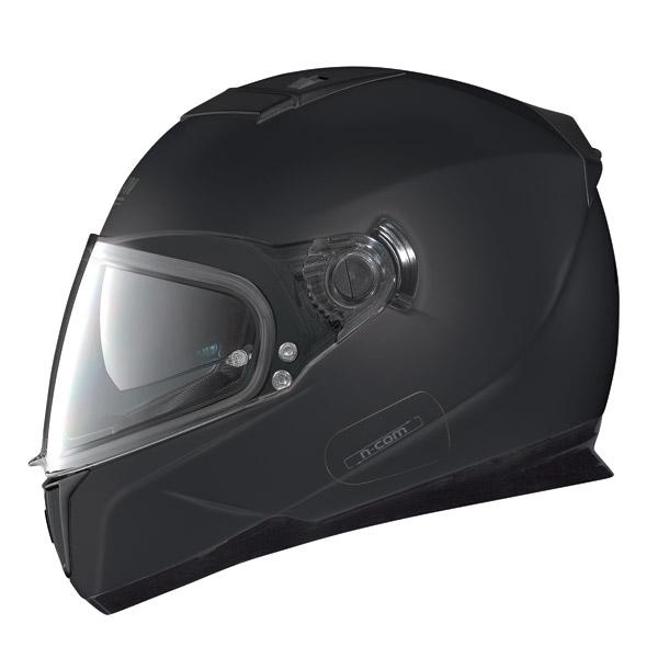 Nolan N86 Classic N-Com flat black full face helmet