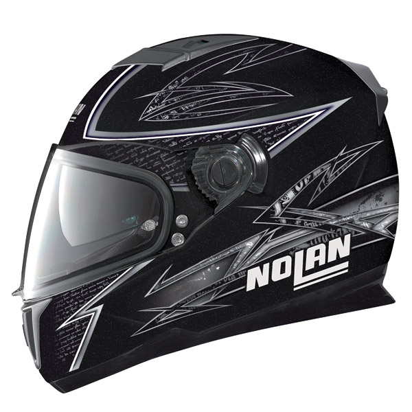 Nolan N86 Beat metal balck full face helmet