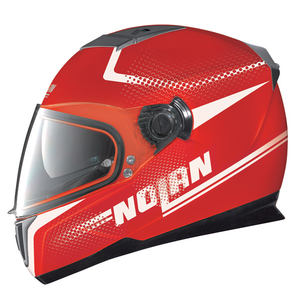 Casco moto Nolan N86 Force corsa red