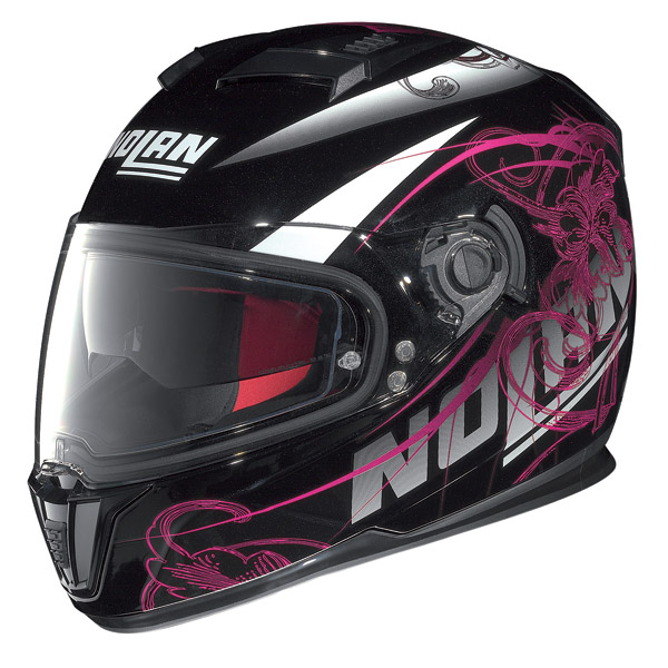 Motorcycle Helmet full-face Nolan N86 Bloom Metal Black