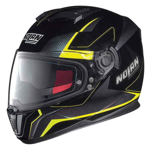 Nolan N86 Electro full face helmet Black Yellow
