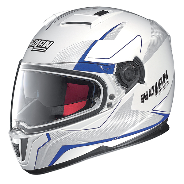 Nolan N86 Electro full face helmet White Blue
