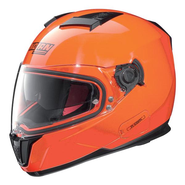 Casco integrale Nolan N86 N-Com Alta Visibilità Arancio Fluo