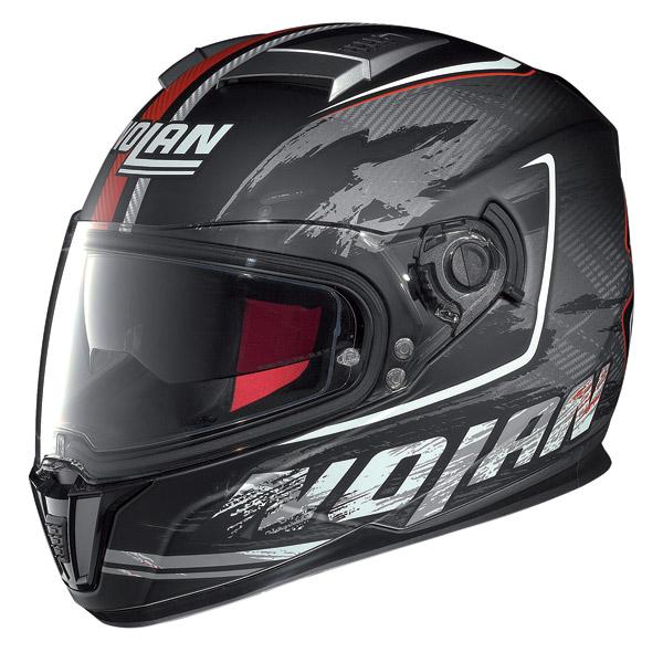 Casco moto integrale Nolan N86 Specter Nero Opaco