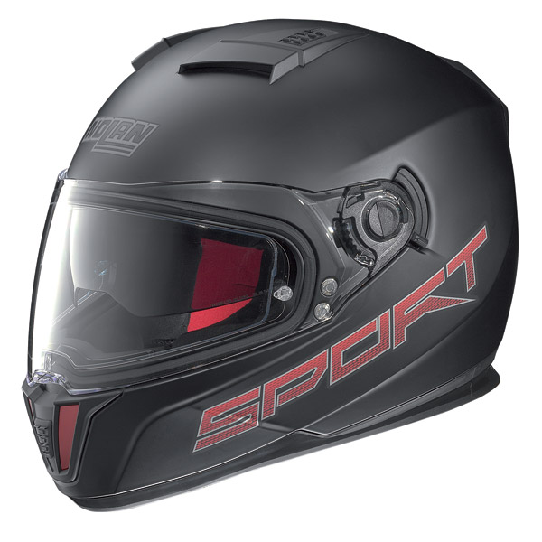 Motorcycle Helmet full-face Nolan N86 Sport flat black