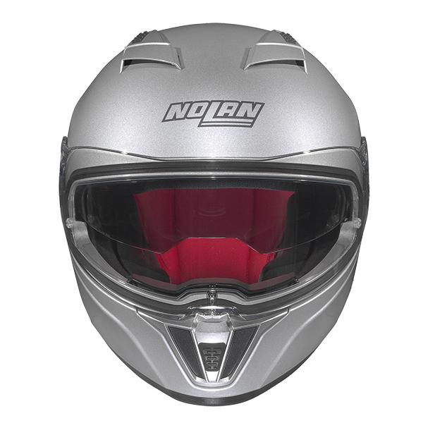 Nolan N86 Stam full face helmet Matte Black Orange