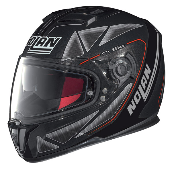 Motorcycle Helmet full-face Nolan N86 Stealth Sparkling Black