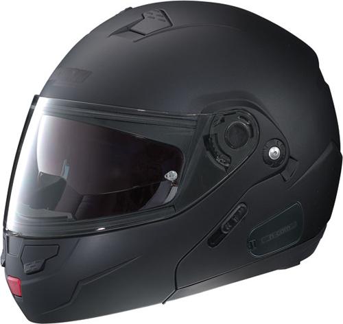 Casco moto modulare Nolan N90 Classic N-Com nero opaco