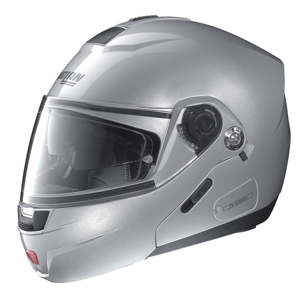Nolan N91 Special N-com open-face helmet salt silver