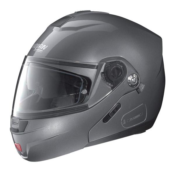 Casco moto Nolan N91 Classic N-Com arctic grey