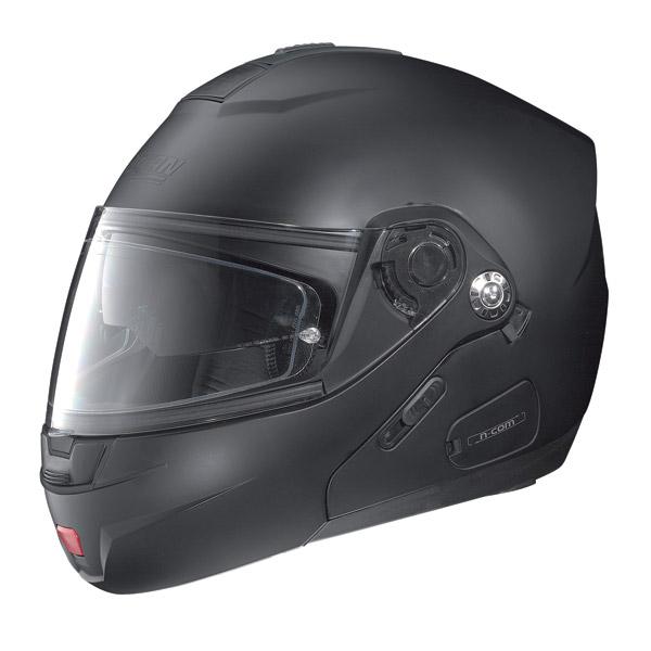 Casco moto Nolan N91 Classic N-Com nero opaco