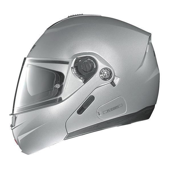 Nolan N91 Evo Classic N-Com flip off helmet Black