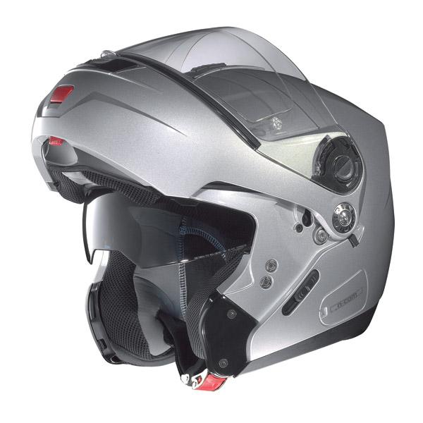 Motorcycle Helmet flip-up Nolan N91 Linear N-Com matt black