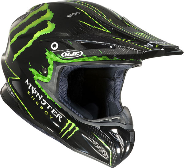 Casco cross HJC RPHA X Nate Adams Monster MC5
