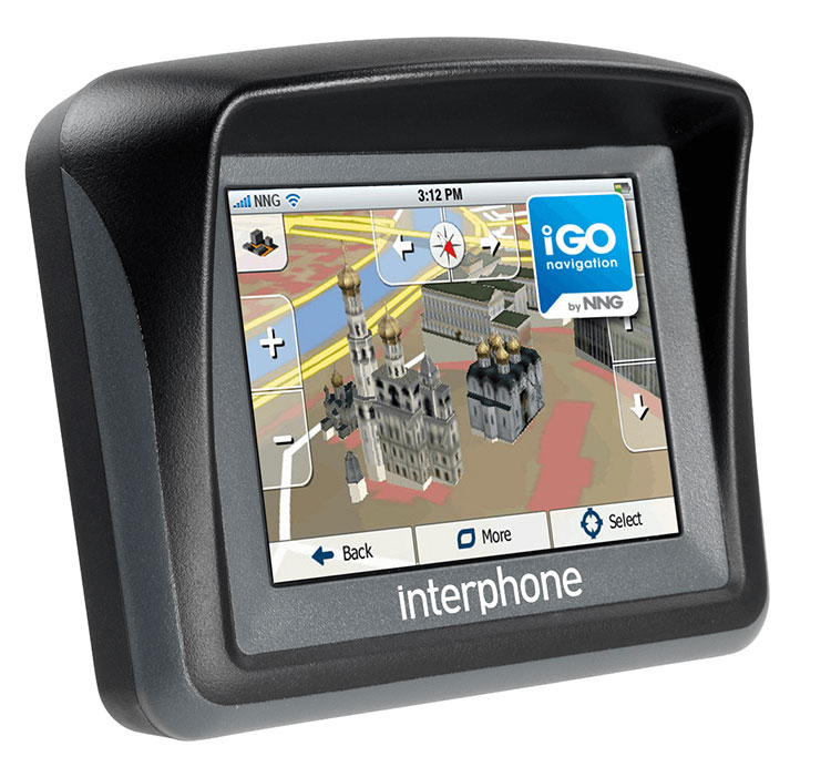 Navigator Bluetooth Mappe Igo Europa Cellular Line