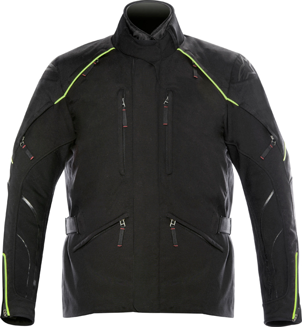 Alpinestars New Land Gore-tex jacket black- yellow fluo