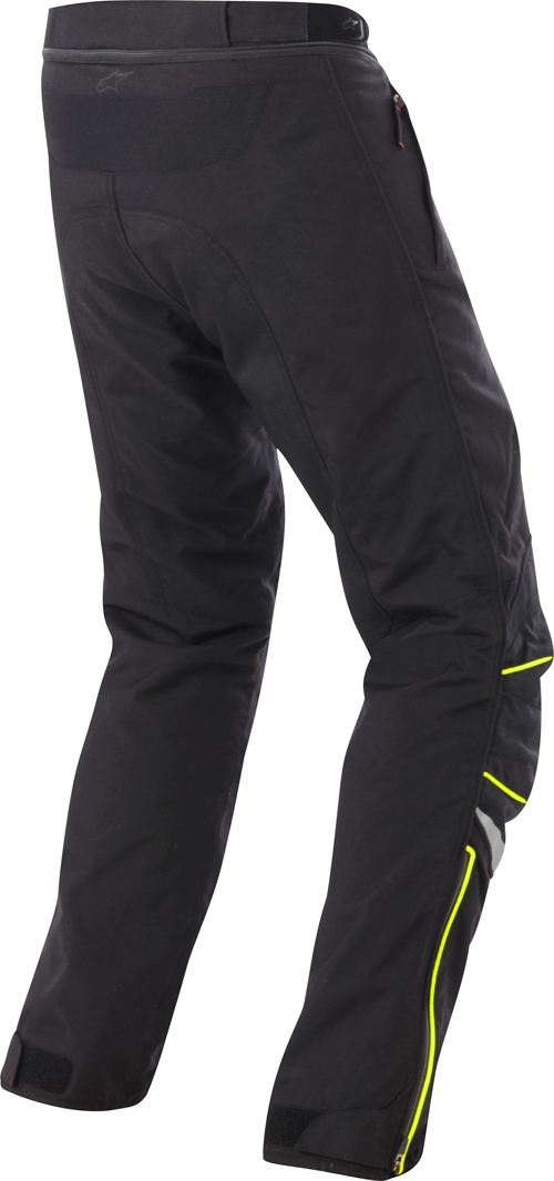 Alpinestars New Land Gore-Tex  motorcycle pants black-yellow flu