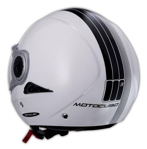Humans New Cubetto jet helmet White