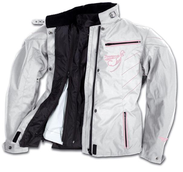 Prexport Ninphea waterproof woman jacket 3 layers Ice