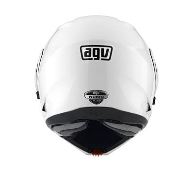 AGV Numo Mono open-face Helmet - Col. White