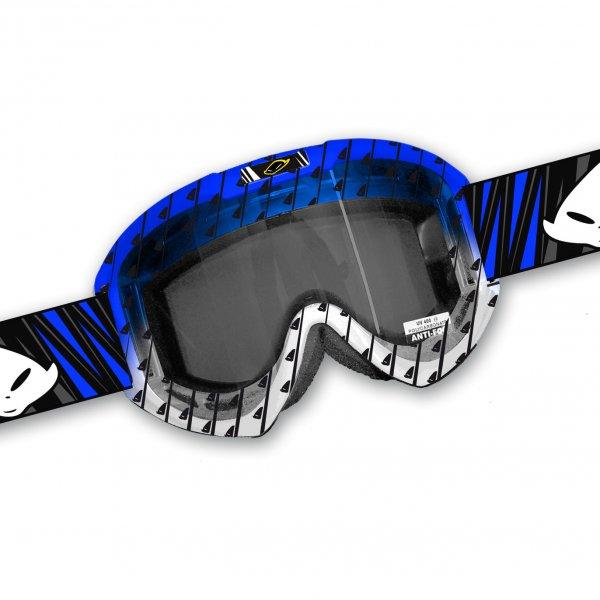 Ufo Plast Fusion Evolution cross goggles Blue White