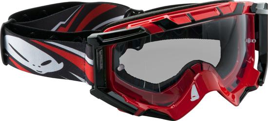 Ufo Plast Mixage goggle red