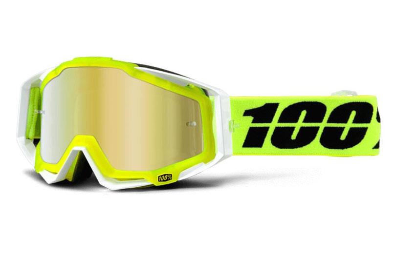 Occhiali cross 100% Racecraft Solar con lente specchiata