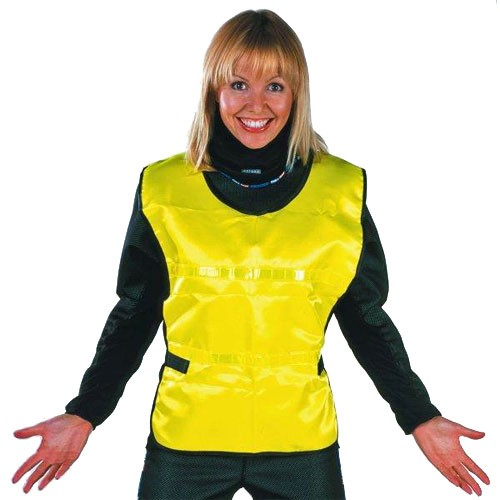 Oxford high visibility vest Neon Yellow