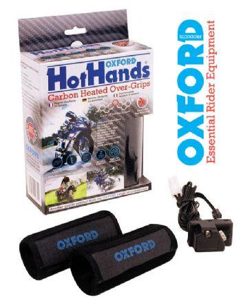 Coppia manopole riscaldate per scooter Oxford Hotgrip Light