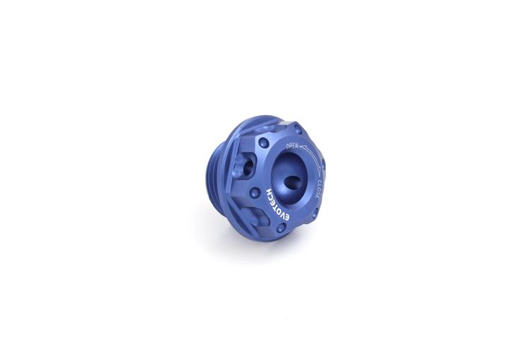 Oil cap Evotech Aprilia Blue
