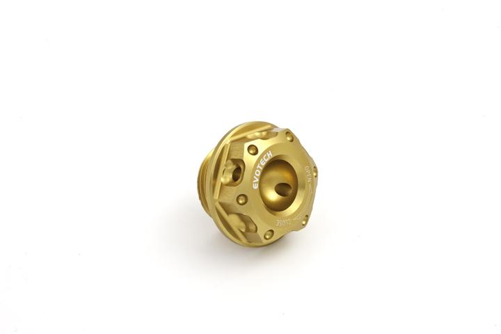 Oil cap Evotech Aprilia Gold