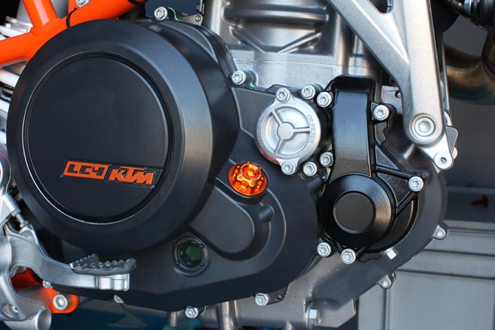Evotech Oil Filler KTM Silver