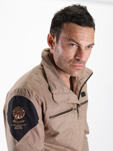 Prexport Orion waterproof jacket Beige