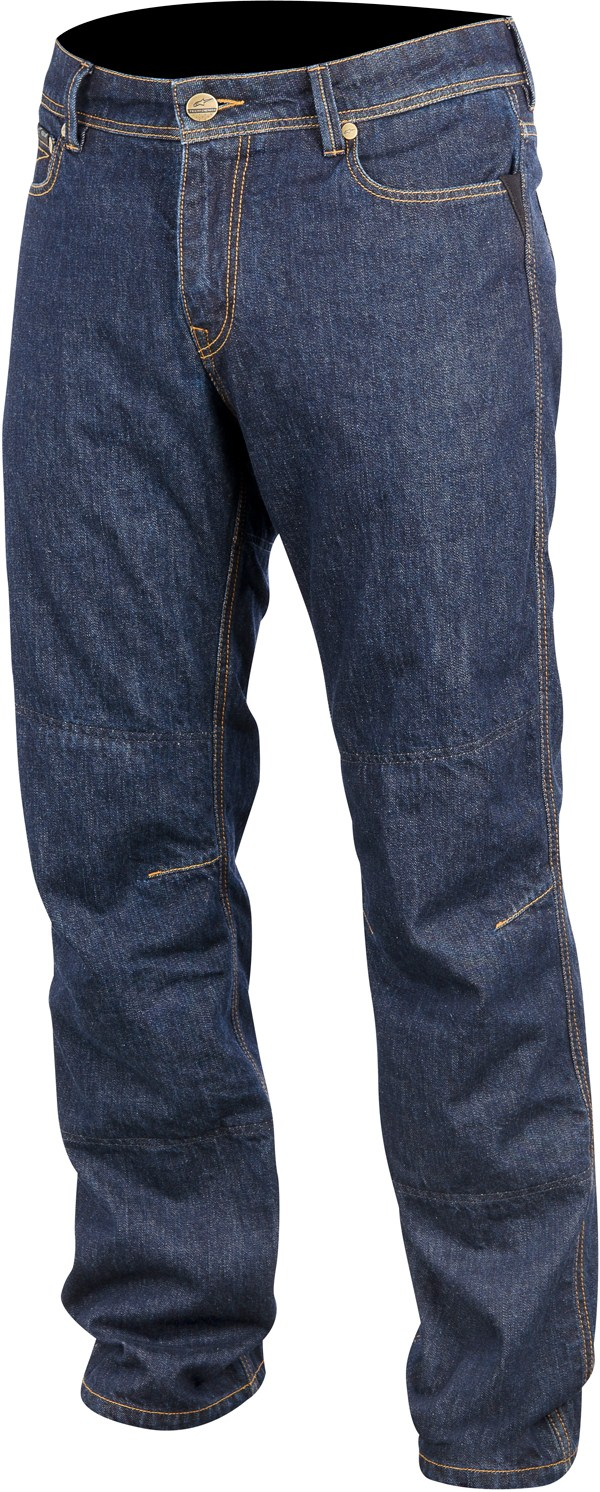 Pantaloni Denim Alpinestars Outcast Tech rinsed indigo