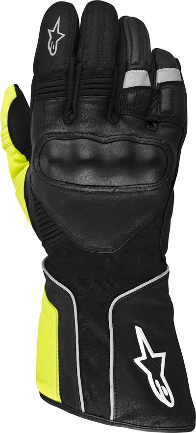 Alpinestars Overland Drystar 2013 gloves black-dark grey-yellow