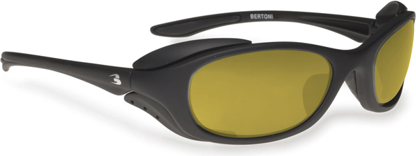 Bertoni Polarized P123B motorcycle sun glasses