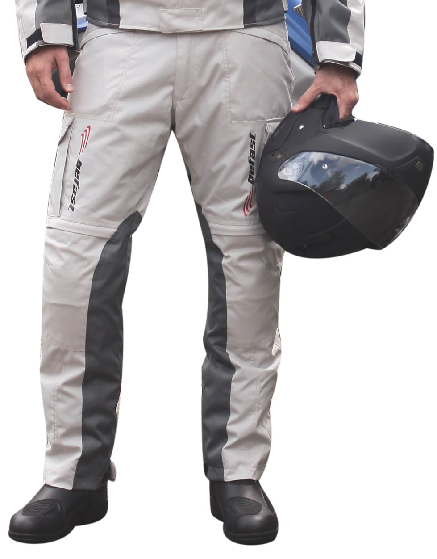 Pantaloni moto Befast Tuono WP Grigio