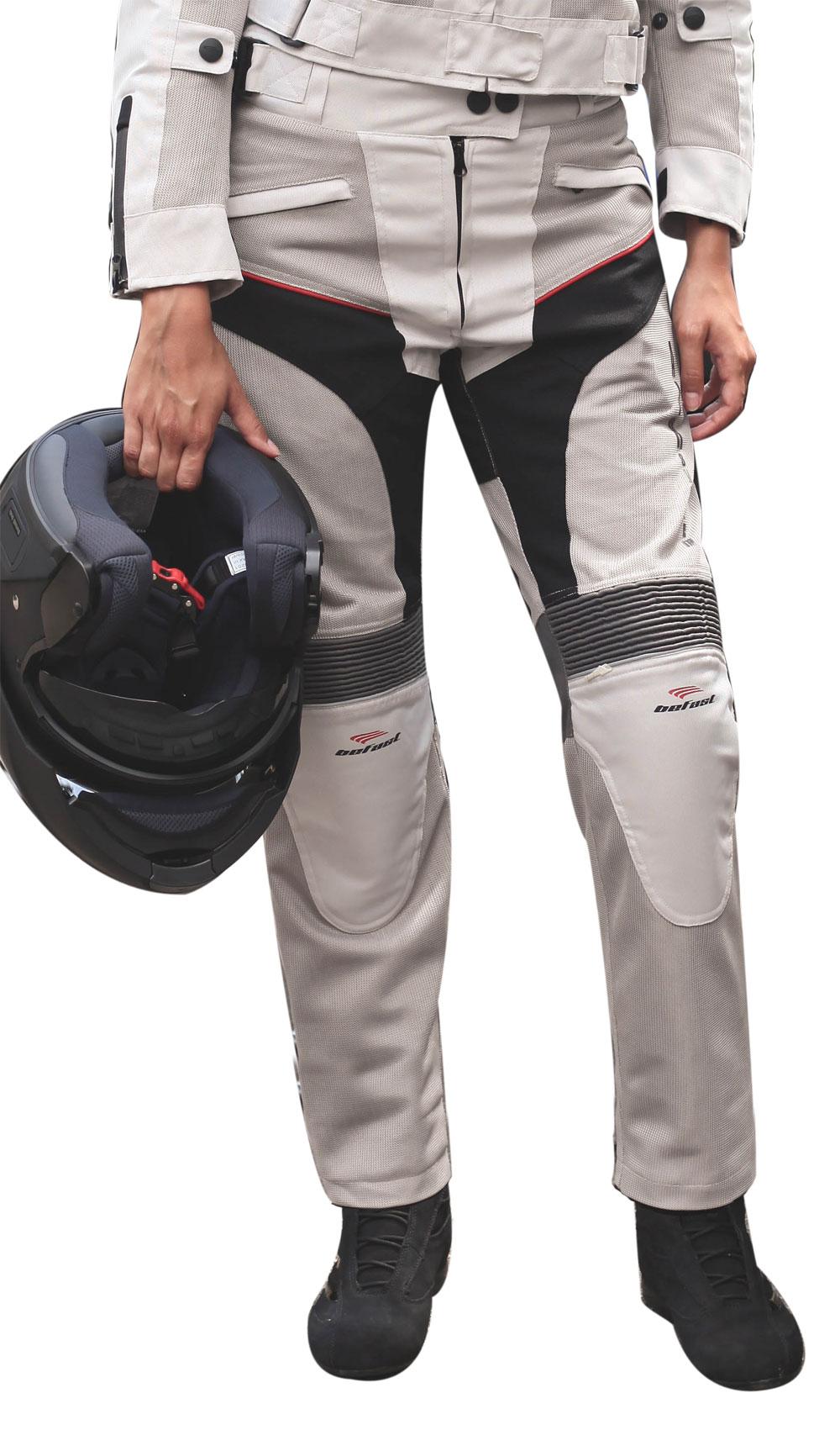 Pantaloni moto donna estivi Befast Sirio Lady Grigio