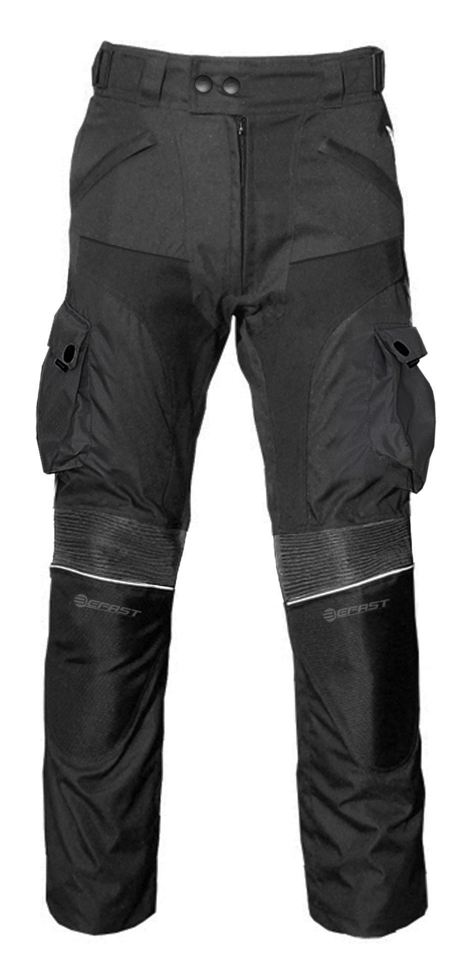 Pantaloni moto donna touring Befast Four Climath EVO 4 stagioni Nero