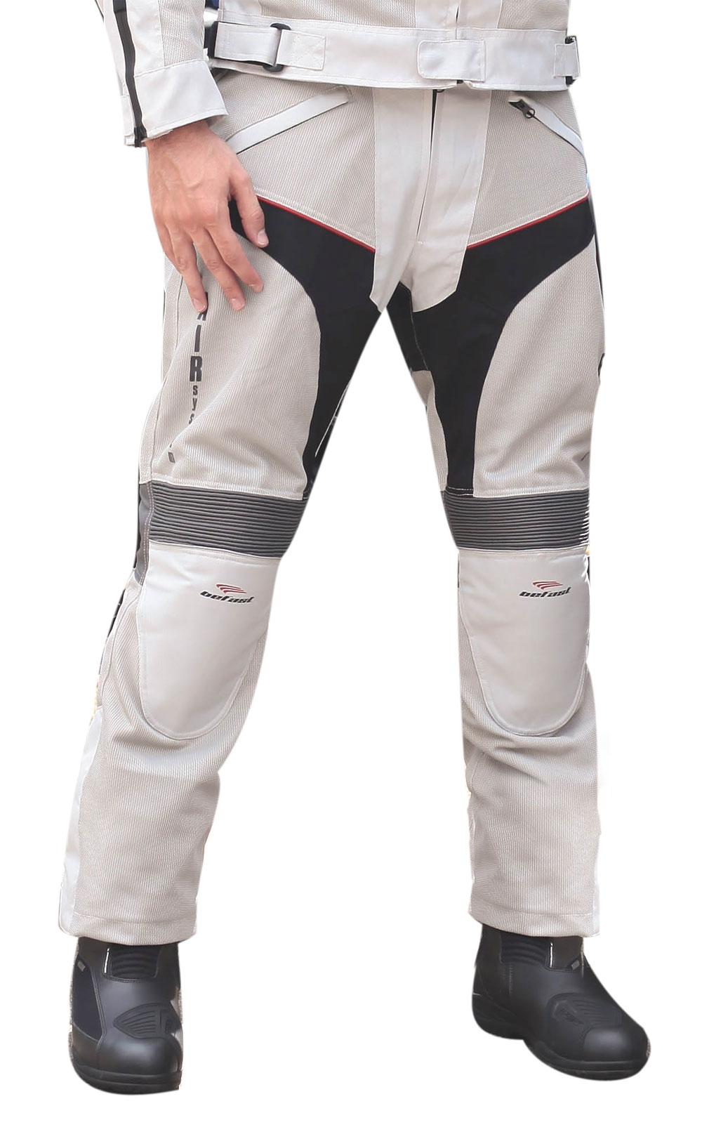 Pantaloni moto estivi Befast Sirio Grigio